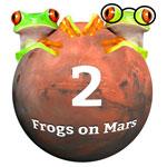 Logo 2 Frogs on Mars